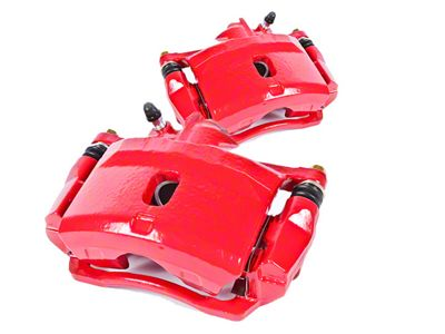 Power Stop Performance Front Brake Calipers - Red (11-14 GT Brembo; 12-13 BOSS 302; 07-12 GT500)