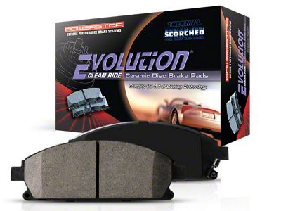 Power Stop Z16 Evolution Clean Ride Ceramic Brake Pads - Front Pair (94-98 GT, V6)