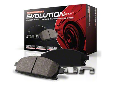 Power Stop Z23 Evolution Sport Ceramic Brake Pads - Rear Pair (2012 GT500)