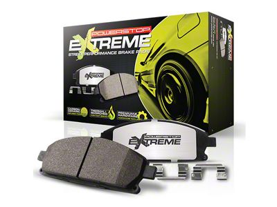 Power Stop Z26 Extreme Street Carbon-Ceramic Brake Pads - Front Pair (13-14 GT500)