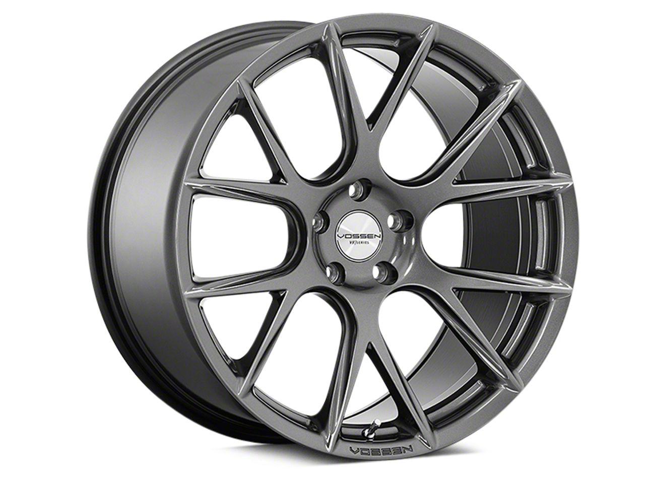 Vossen VFS-6 Gloss Graphite Wheel - 20x10.5 - Rear Only (15-19 All)