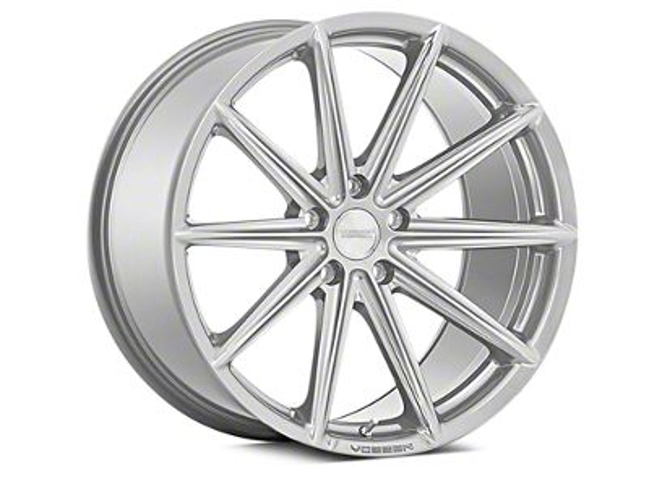 Vossen VFS-10 Silver Metallic Wheel - 20x10.5 - Rear Only (15-19 All)