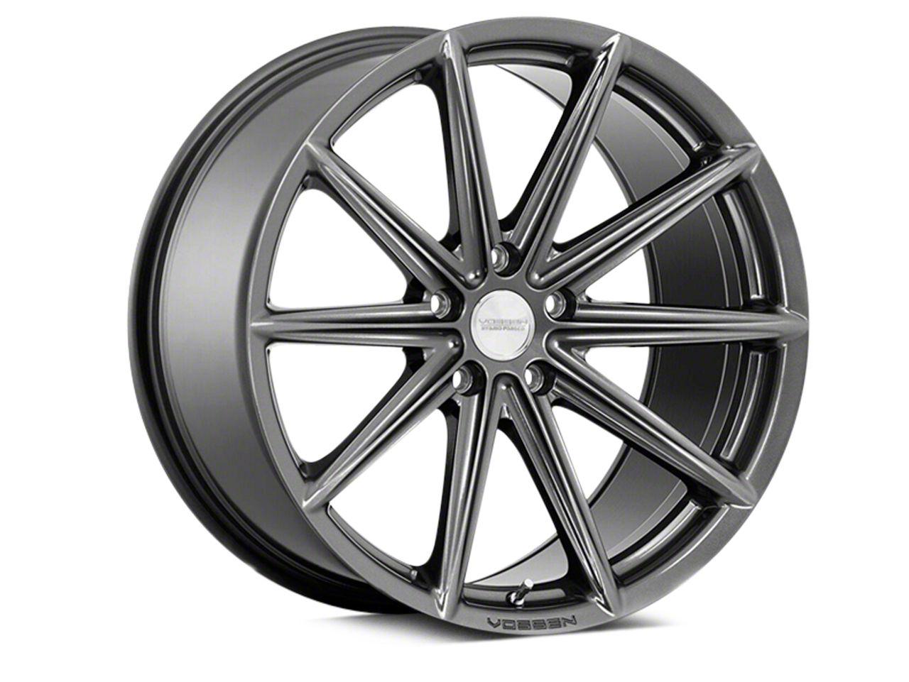 Vossen VFS-10 Gloss Graphite Wheel - 20x10.5 - Rear Only (15-19 All)