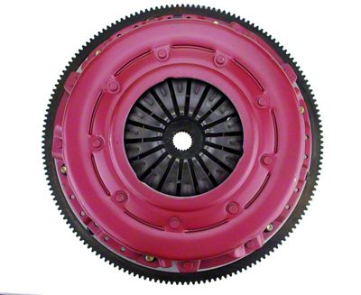 RAM Force Dual Disc 10.5 Clutch w/ 8 Bolt Steel Flywheel - 26 Spline (10-14 GT500)
