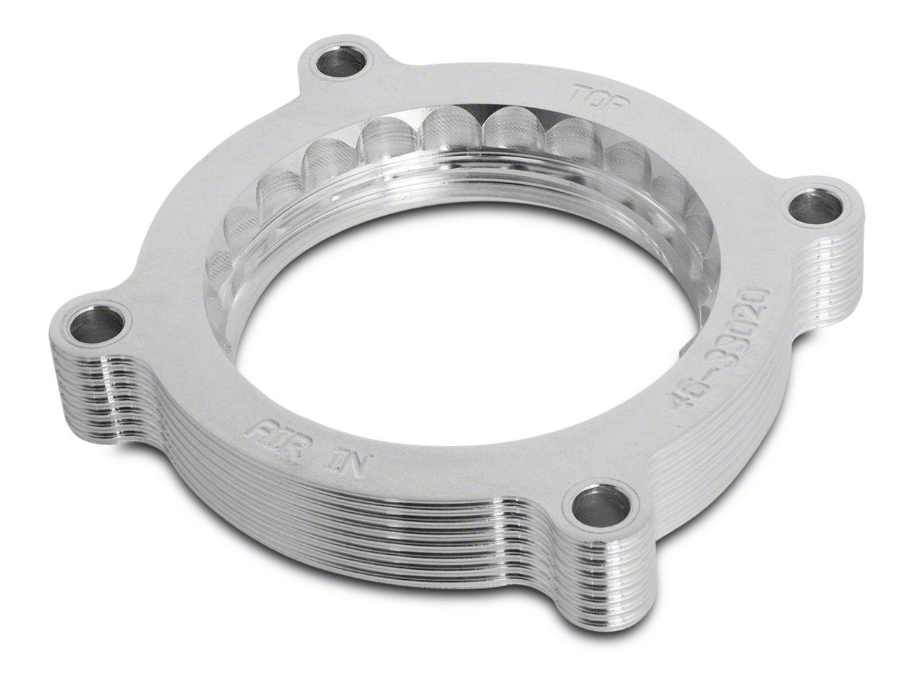 AFE Silver Bullet Throttle Body Spacer (15-17 GT)