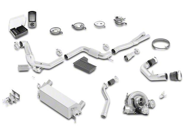 Borla Turbocharger Upgrade Kit (15-17 EcoBoost)