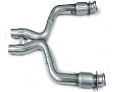 Kooks 3 in. Catted X-Pipe (07-14 GT500 w/ Long Tube Headers)