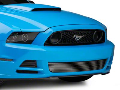 T-REX Billet Lower Grille - Polished (13-14 GT)