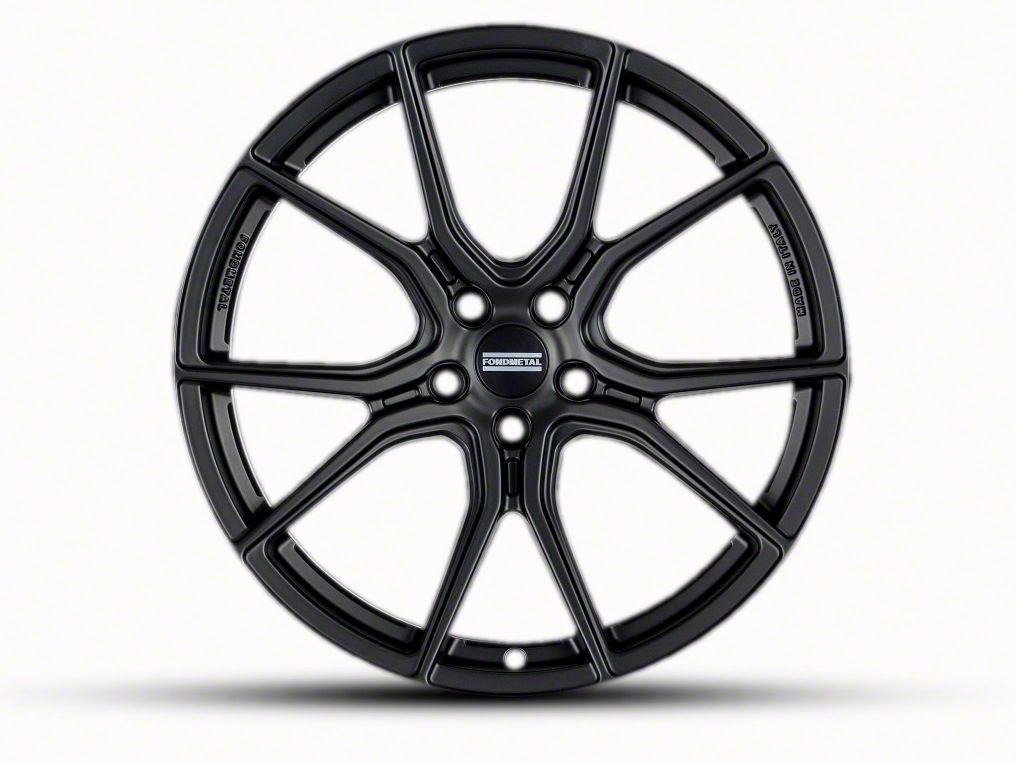 Fondmetal 191MB Matte Black Wheel - 20x9 (05-14 All)
