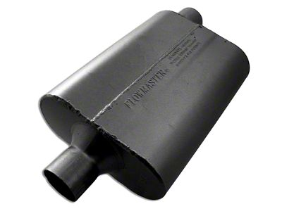 Flowmaster 40 Series Delta Flow Center/Offset Oval Muffler - 2.25 in. (Universal Fitment)