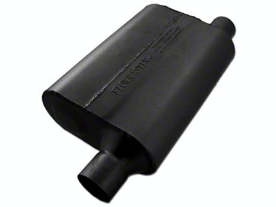 Flowmaster 40 Series Delta Flow Offset/Same Side Out Oval Muffler - 2.25 in. (Universal Fitment)