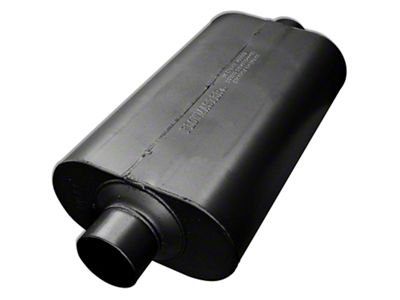 Flowmaster Super 50 Series Center/Center Oval Muffler - 3.0 in. (Universal Fitment)