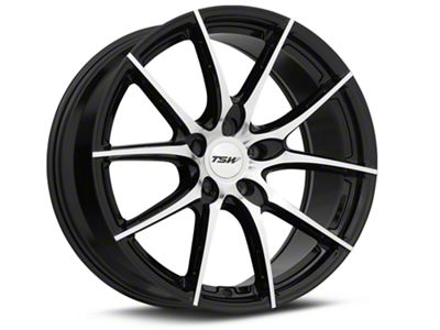 TSW Spring Gloss Black w/ Mirror Cut Face Wheel - 19x9.5 (05-14 Standard GT, V6)