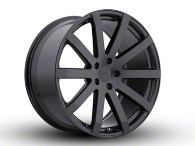 TSW Brooklands Matte Black Wheel - 20x8.5 (15-19 All)