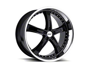 TSW Jarama Gloss Black w/ Mirror Cut Lip Wheel - 20x8.5 (05-14 Standard GT, V6)