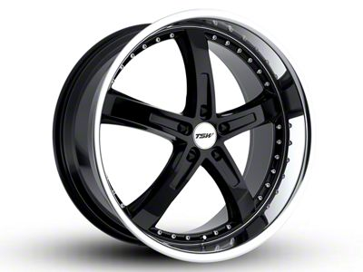 TSW Jarama Gloss Black w/ Mirror Cut Lip Wheel - 20x8.5 (15-19 EcoBoost, V6)