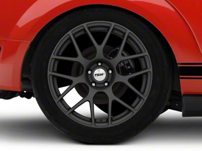 TSW Nurburgring Matte Gunmetal Wheel - 19x10.5 - Rear Only (05-14 All)
