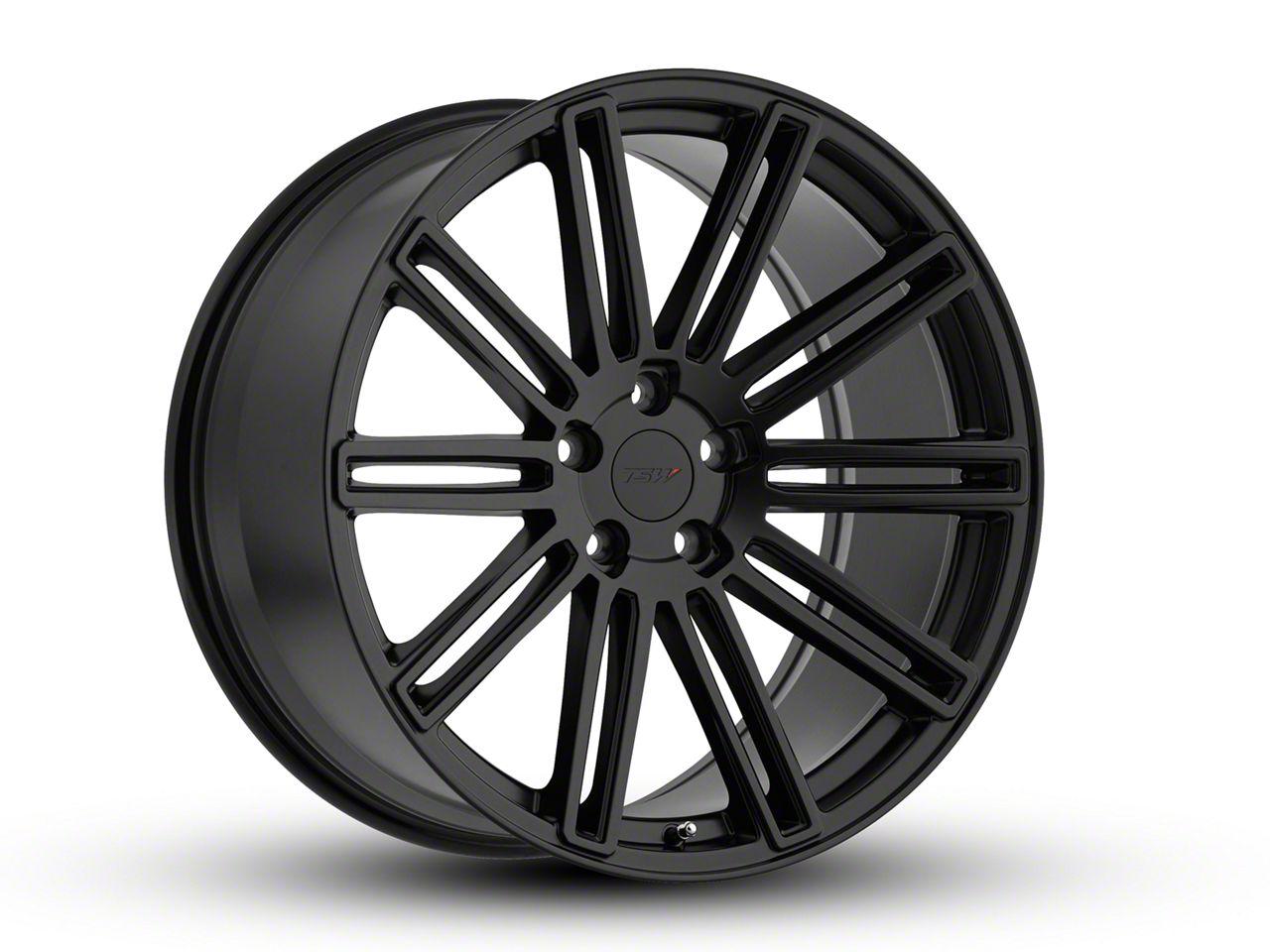 TSW Crowthorne Matte Black Wheel - 20x10 (15-19 All)