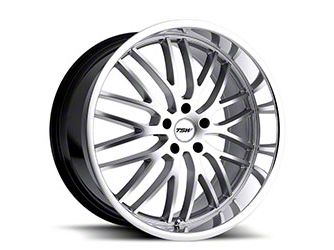 TSW Snetterton Hyper Silver w/ Mirror Cut Lip Wheel - 20x10 - Rear Only (15-19 EcoBoost, V6)