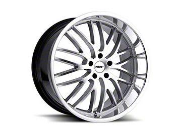 TSW Snetterton Hyper Silver w/ Mirror Cut Lip Wheel - 19x9.5 (05-14 Standard GT, V6)