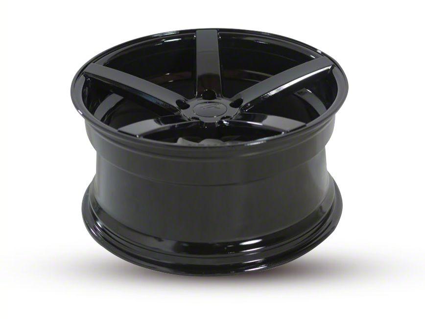 Rovos Staggered Durban Satin Black Wheel & Nitto INVO Tire Kit - 18x9/10.5 (94-04 All)