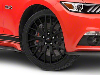 Ford Performance Performance Pack Matte Black Wheel - 19x9 (15-19 GT, EcoBoost, V6)