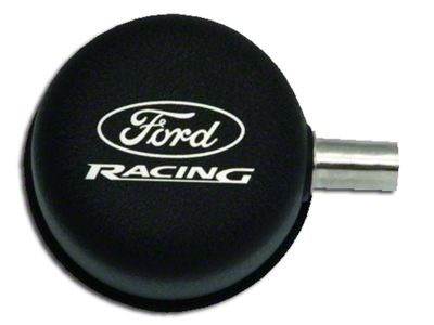 Ford Performance Black Breather Cap w/ Ford Racing Logo - Closed Crankcase Design (79-93 289, 302, 351W)