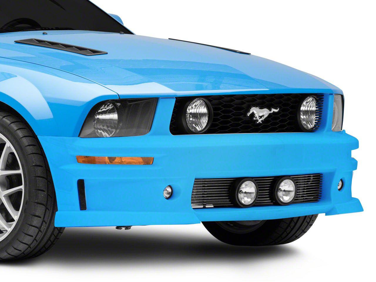 Cervini's C-Series Lower Billet Grille w/ Fog Lights - Brushed (05-09 GT, V6)