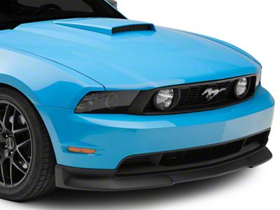 Cervini's Type II Chin Spoiler - Textured Black (10-12 GT)