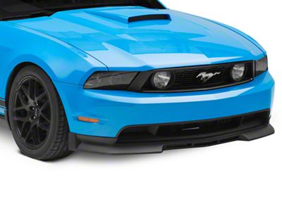 Cervini's Type IV Chin Spoiler - Textured Black (10-12 GT)