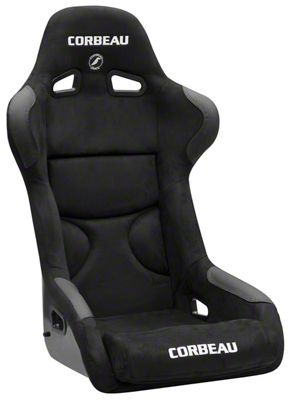 Corbeau FX1 Pro Racing Seat - Black Microsuede (79-19 All)