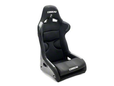 Corbeau FX1 Pro Wide Racing Seat - Black Cloth (79-19 All)