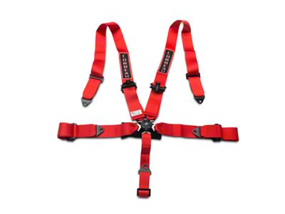 Corbeau 3 in. 5-Point Camlock Harness Belt - Red (79-19 All)
