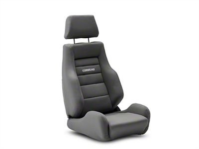 Corbeau GTS II Reclining Seat - Gray Cloth (79-19 All)