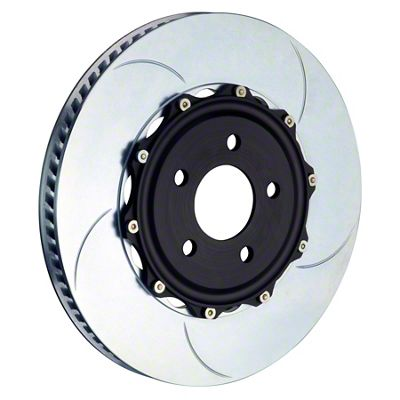 Brembo 2-Piece 14 in. Type 5 Slotted Brake Rotors - Front Pair (11-14 GT Brembo; 12-13 BOSS 302; 07-12 GT500)