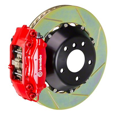 Brembo GT Series 4-Piston Front Brake Kit - Slotted Rotors - Red (05-14 GT, V6)
