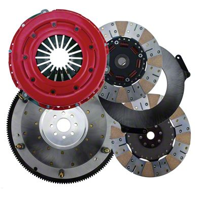 RAM Street Dual Disc Force 10.5 900S Clutch w/ 8 Bolt Aluminum Flywheel - 23 Spline (11-17 GT; 12-13 BOSS 302)