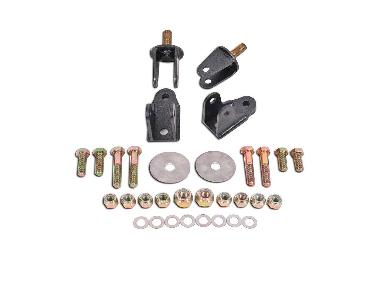 BMR Rear Coil-over Conversion Kit - Hammertone (79-04 All, Excluding 99-04 Cobra)