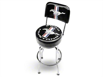 Ford Mustang Backrest Bar Stool