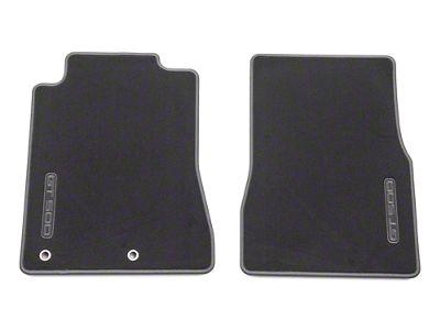 Ford Front Floor Mats w/ GT500 Logo - Charcoal (2010 GT500)