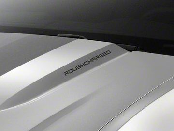 Roush ROUSHcharged Decal - Matte Black (10-12 All)