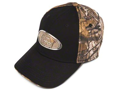 Ford Chrome Oval Hat