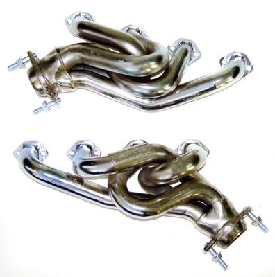 MAC 1-5/8 in. Chrome Equal Length Shorty Headers (79-93 5.0L)