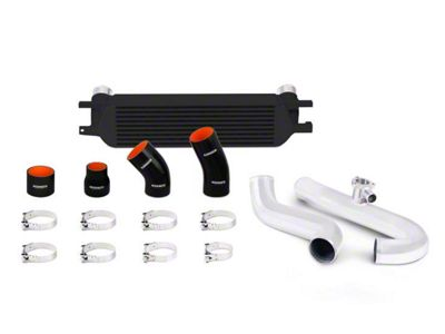Mishimoto Black Performance Intercooler Kit w/ Polished Piping (15-19 EcoBoost)