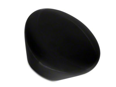 Alterum Black Retro Mushroom Shift Knob (79-04 All)