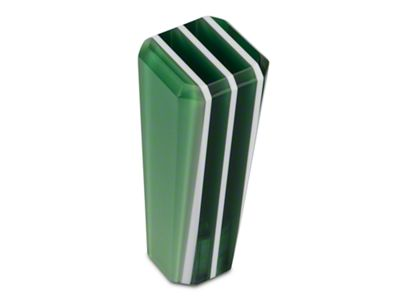 Alterum Green Stripe Stix Shift Knob (05-19 GT, EcoBoost, V6; 07-09 GT500)