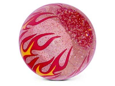 Alterum Clear Flame Metal Flake Shift Knob (05-19 GT, EcoBoost, V6; 07-09 GT500)