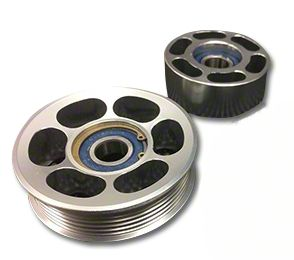 SHR Tru-Billet Idler Pulleys - Silver Anodized (94-95 GT)
