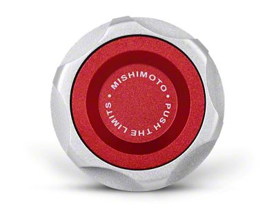 Mishimoto Oil Filler Cap - Red (15-19 EcoBoost)