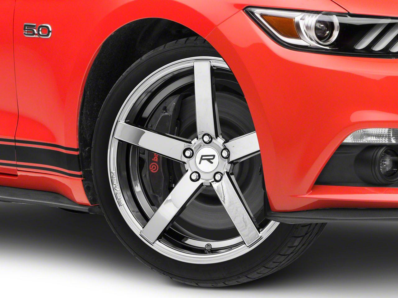Rovos Durban Black Chrome Wheel - 20x8.5 (15-19 GT, EcoBoost, V6)